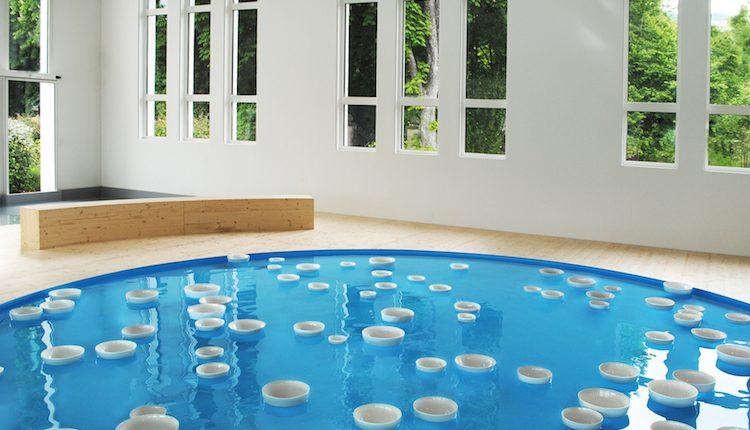Exposition Liquide Liquide de Céleste Boursier-Mougenot à la Fondation François Schneider _ detail de Clinamen_Courtesy de l'artiste et de la Fondation